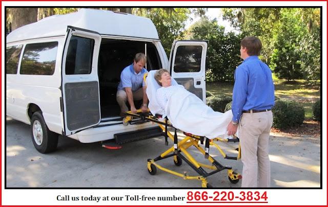 Stretcher Transportation in Scottsdale Arizona