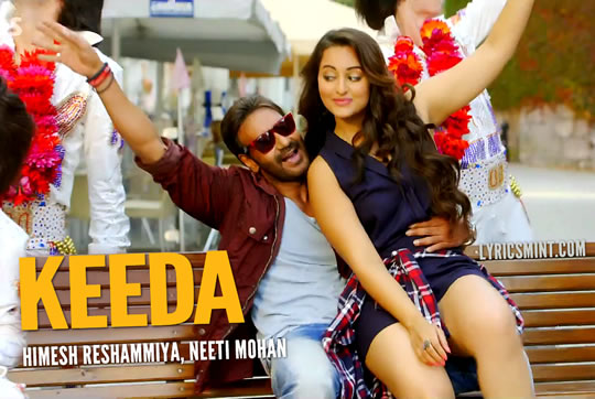 Ajay Devgn & Sonakshi Sinha in Keeda from Action Jackson