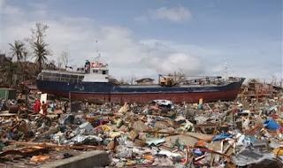 Topan Haiyan porak porandakan Filipina (foto ROL)