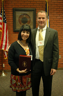 Dr. Rodriguez was named Distinguish Alumni from SHSU in 2009.