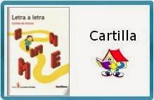 """CARTILLA DE LECTURA """"LETRA A LETRA"""" DE SANTILLANA"""