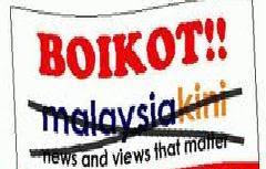 Kami Boikot Malaysia Kini