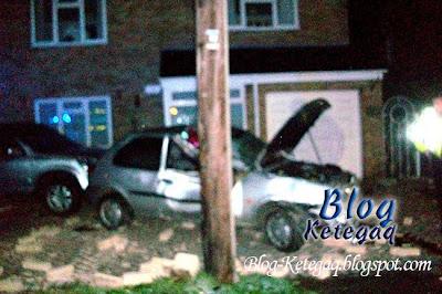 kereta kemalangan