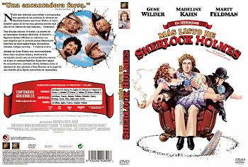 Carátula Dvd: El hermano más listo de Sherlock Holmes (1975)