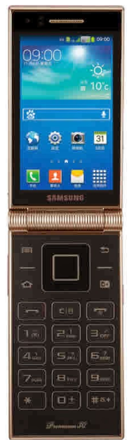 Samsung W2014 Flip Android