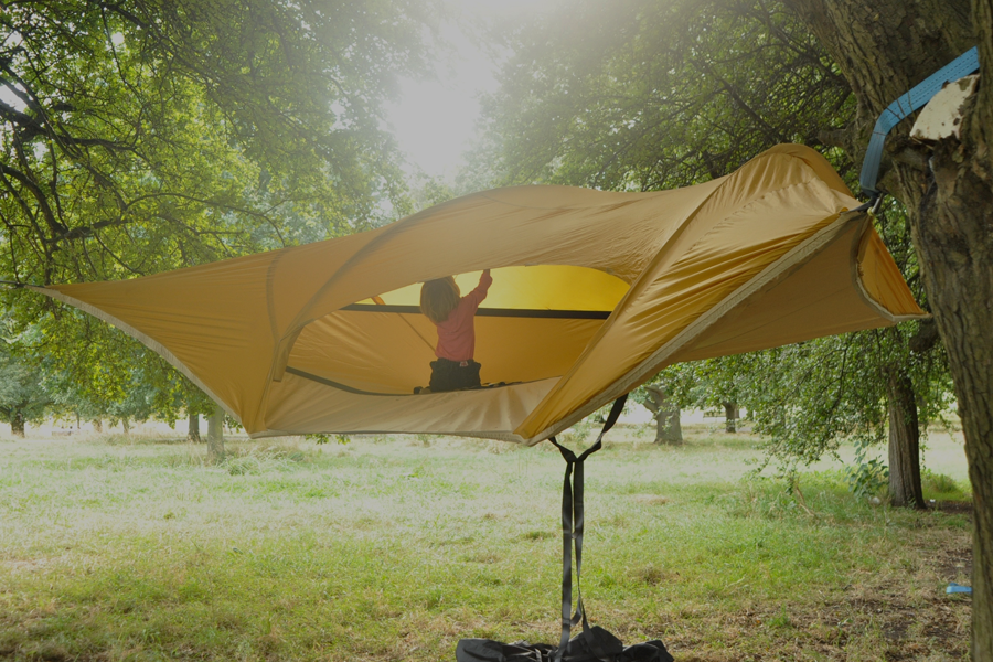 Jocundist Tensile Tree Tent For Camping Playing And
