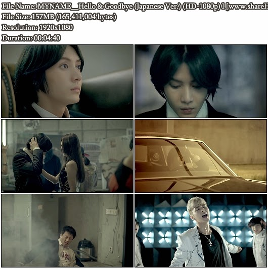Download MV MYNAME - Hello & Goodbye (Japanese Ver.) (Full HD 1080p)