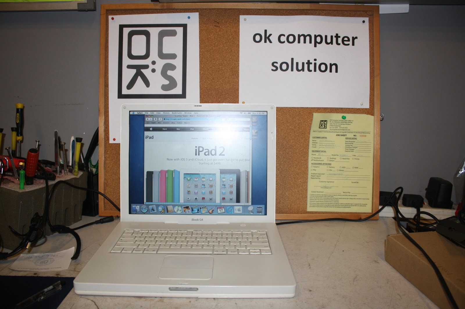 OK COMPUTER SOLUTION TAIPING Repair Apple Macbook