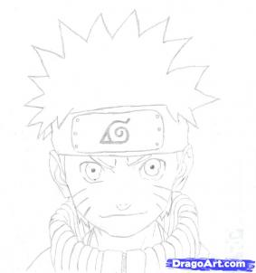 How To Draw Naruto Uzumaki as well Boxer Head Line Drawing additionally Drawing Things additionally Skeleton Face Digital Tribal moreover Chatons Kawaii. on bleach characters