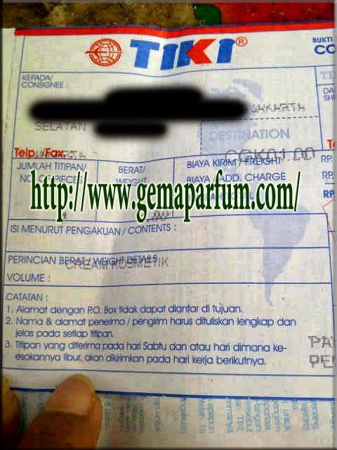 Pengiriman Parfum ke Jakarta Selatan
