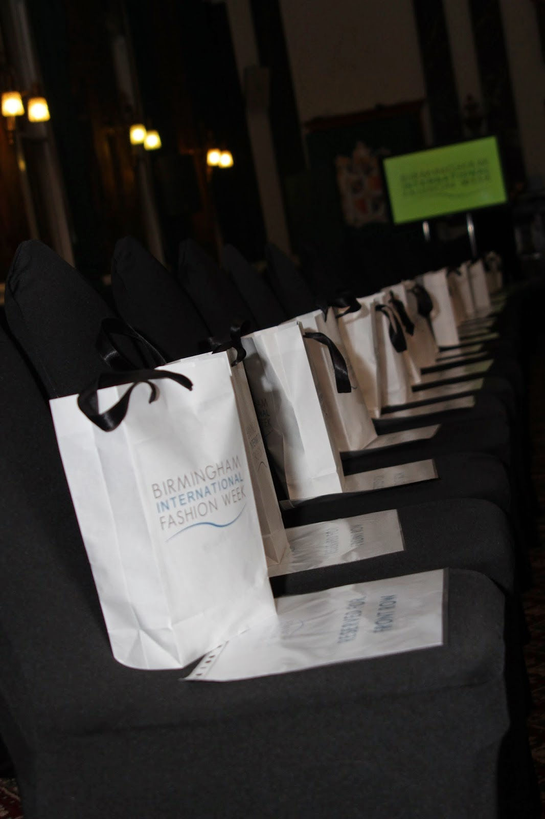 Birmingham International Fashion Week Show bags