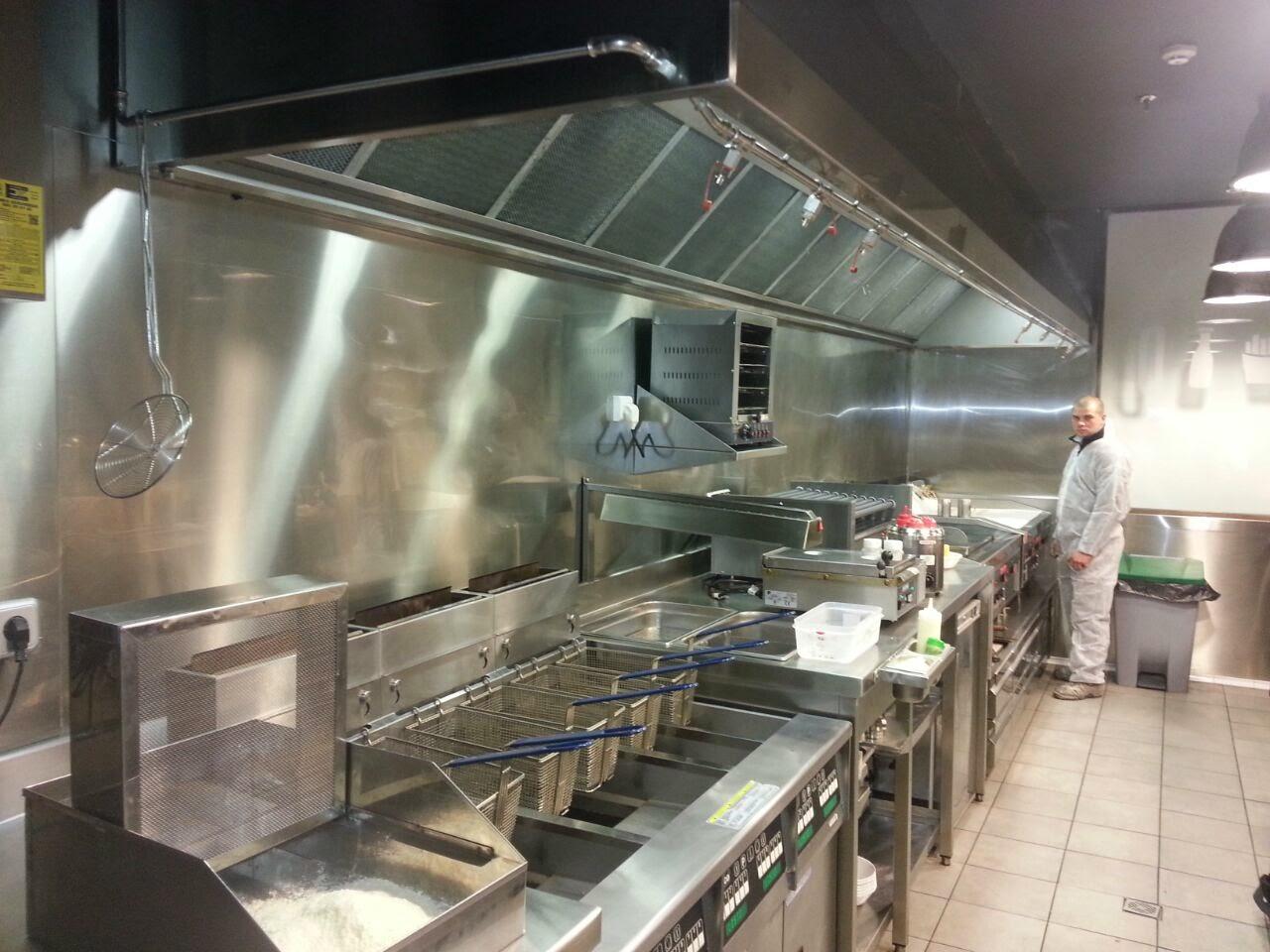 Conductos y piezas en chapa galvanizada e inoxidable tubos - Extractores para cocinas ...