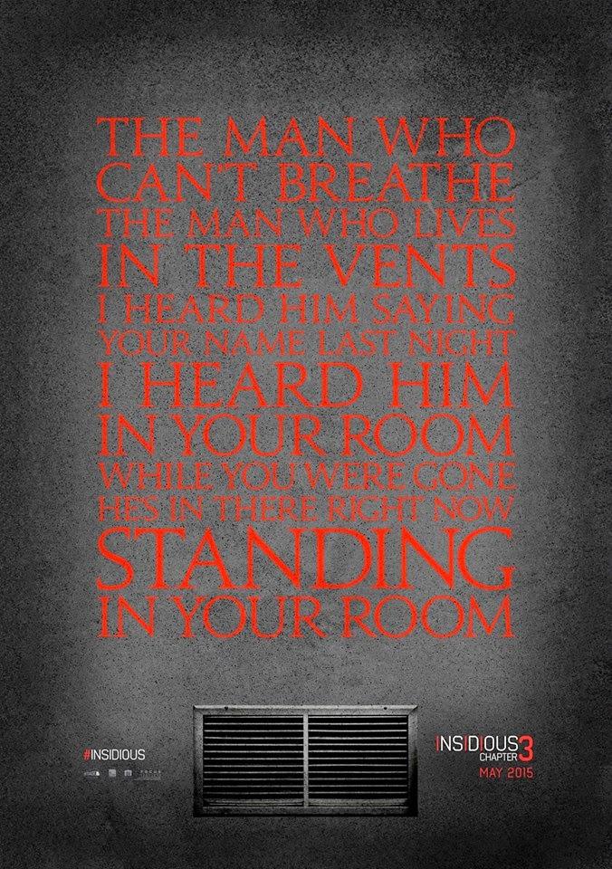 Teaser póster de 'Insidious 3'