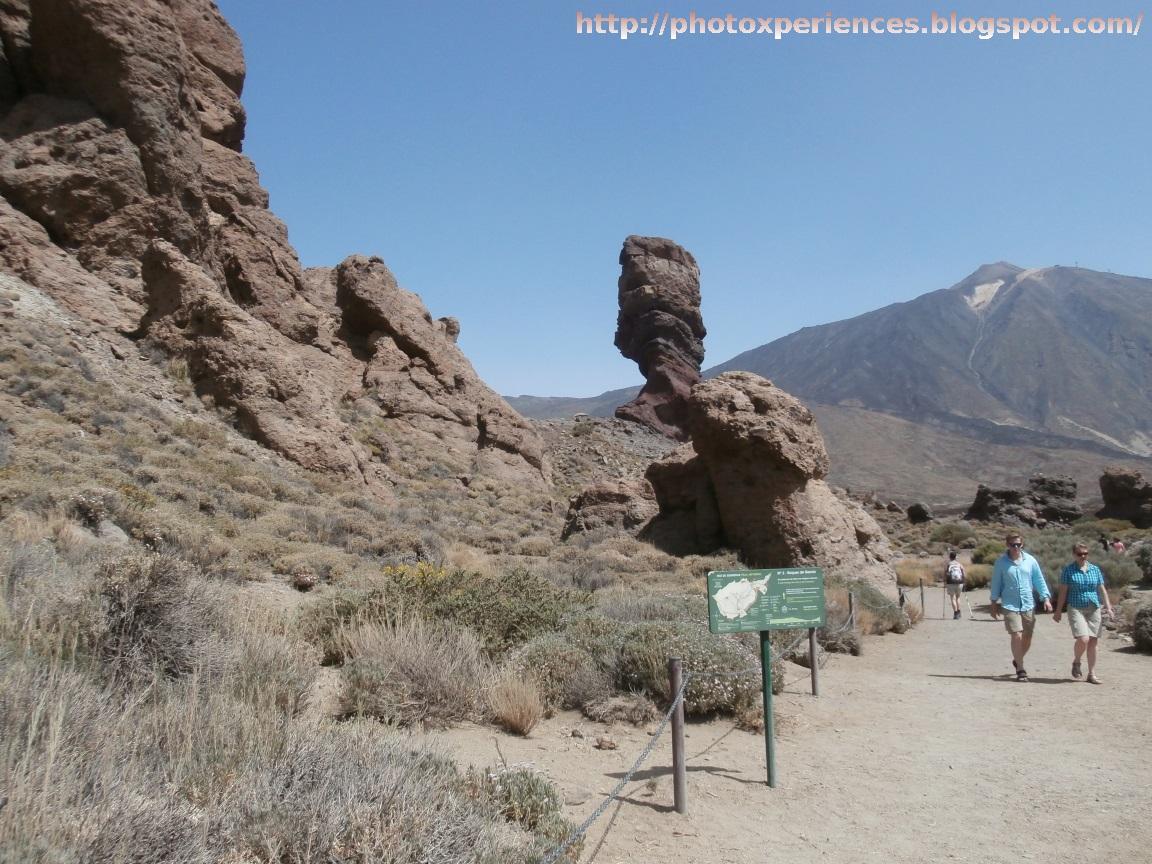 El Roque Cinchado y la ruta senderista de los Roques de García