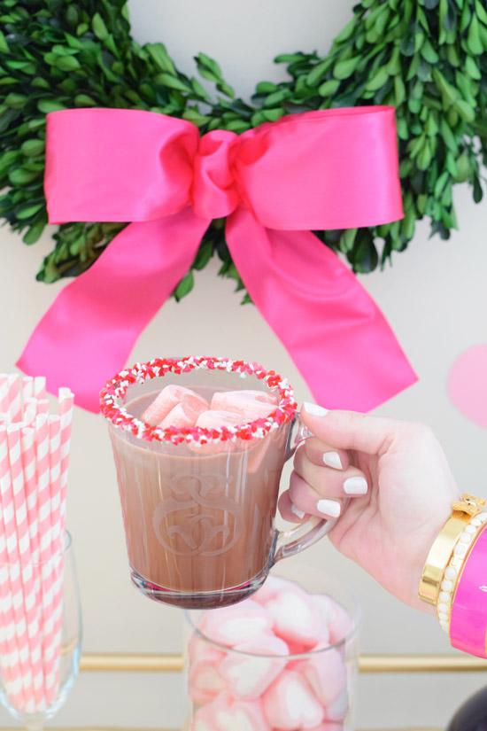 Girls In Madras Valentine S Day Hot Chocolate Bar