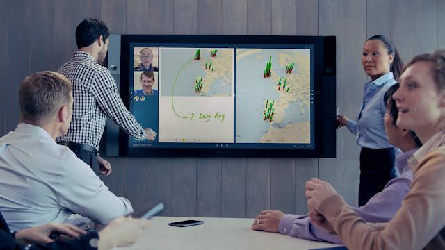 Surface Hub - вот так его используют