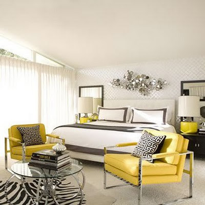 Trending Gray Yellow Bedroom Ideas Chambre Tendance 2012jpg Trending Gray Yellow Bedroom Ideas