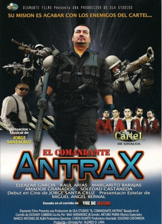 EL COMANDANTE ANTRAX 2012.