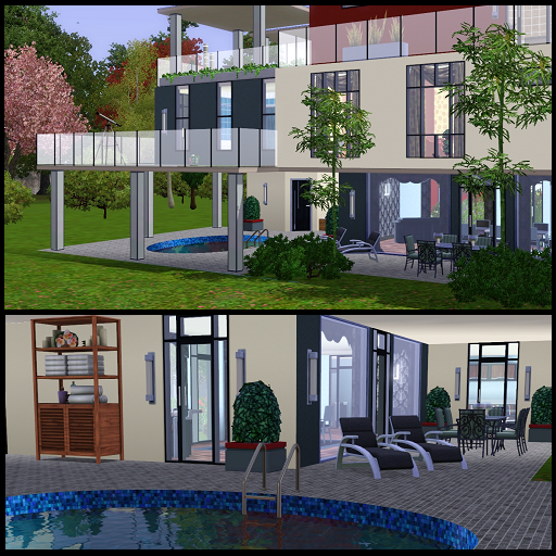 Dippy designs showcase new thread for dippy 39 s sims 4 for Pool design sims 4