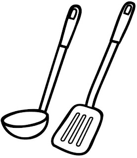 50 desenhos de objetos de cozinha para pintar colorir for Lista de materiales de cocina