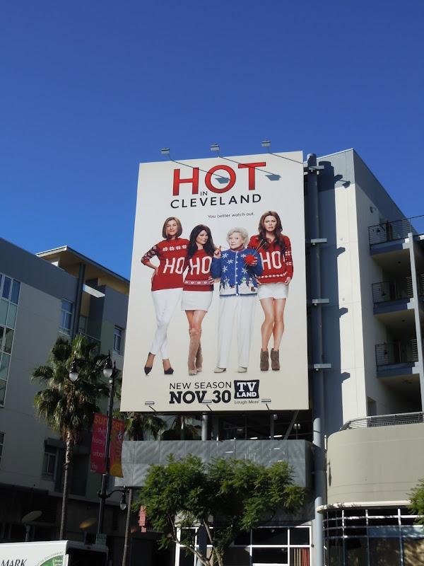 Hot in Cleveland season 3 billboard