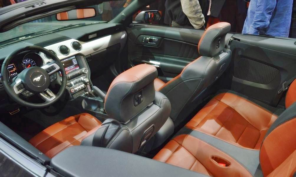 2015 Ford Mustang Convertible Release Canada Interior