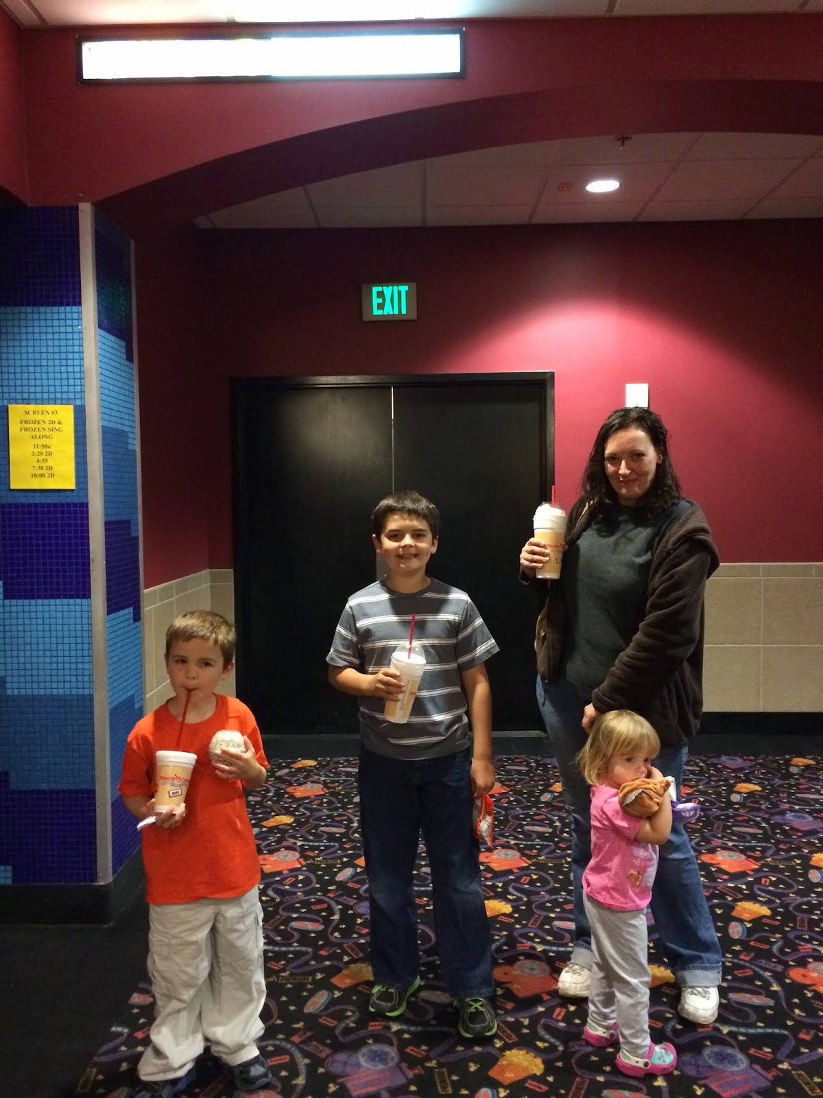 Even Though Amelia Had Never Been To A Movie Before, I Knew She'd Sit  Through It With No Problem Anna Was There To Fully Participate And