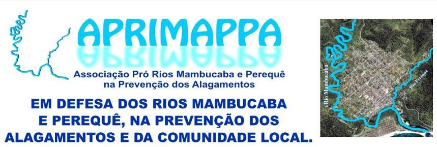 APRIMAPPA - Associação Pró Rios Mambucaba e Perequê na Prevenção dos Alagamentos