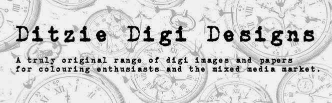 Ditzie Designs  logo