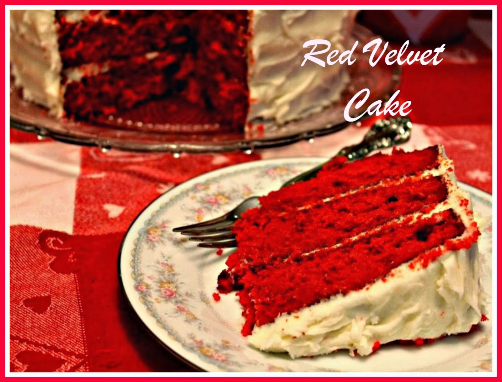 Sweet Tea and Cornbread Southern Red Velvet Cake