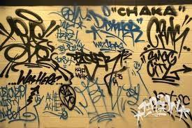 complejidad debido a la sencillez y al escaso tiempo que se necesita para su ejecución, pero es importante saber que los tags son la base del graffiti.