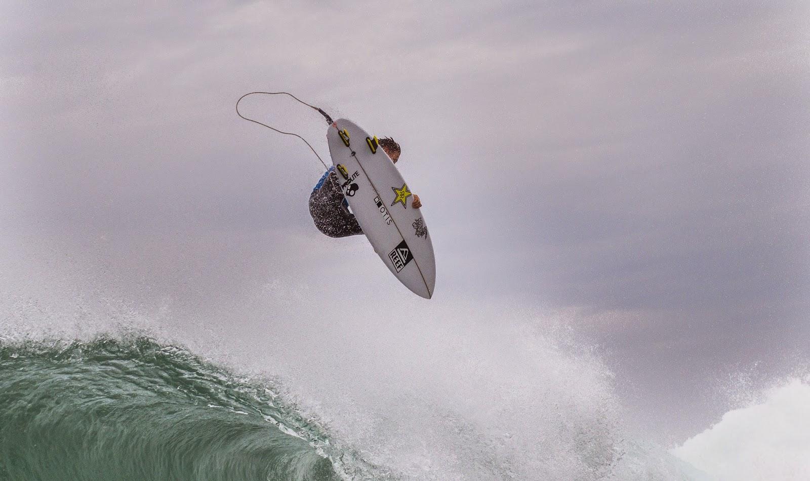 Quiksilver Pro France 2014 Mitch Crews AUS Foto ASP