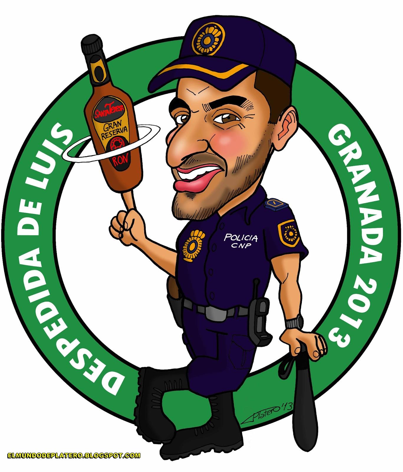Platero: Caricaturas, Cómics e Ilustraciones: CARICATURA POLICÍA