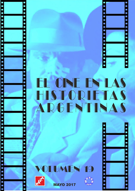 EL CINE EN LAS HISTORIETAS ARGENTINAS.  EAGZA - WOTAN