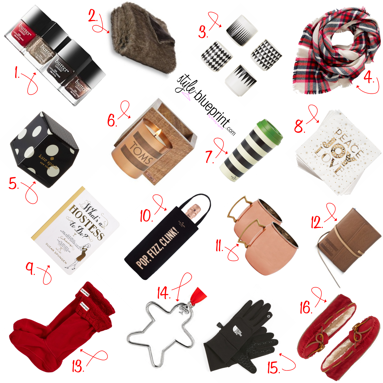 holiday gift ideas, under $50 holiday gift guide ideas, holiday gift guide 2014, gift guide friends and coworkers,
