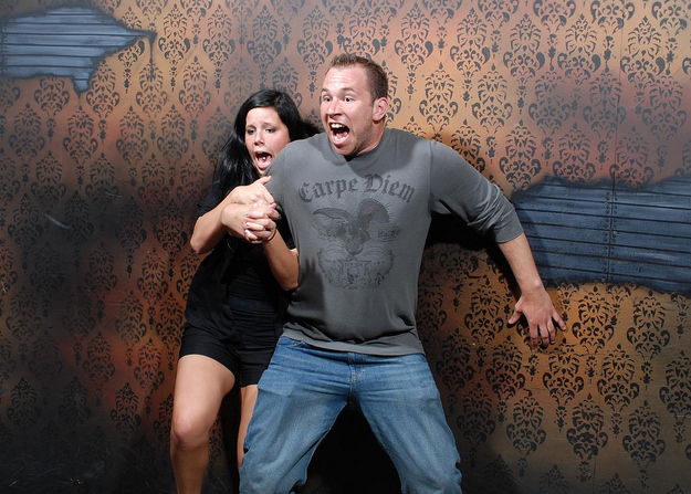 Liberally Lean From The Land Of Dairy Queen - 22 side splitting haunted house reactions