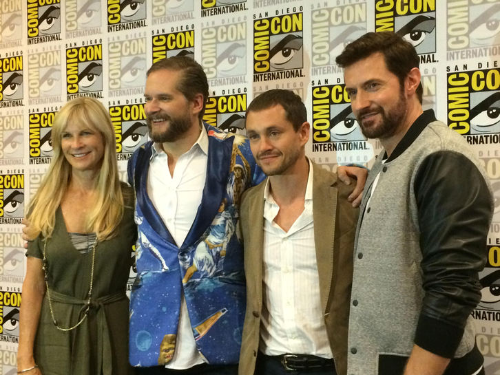 Hannibal - Comic-Con Press Conference with Bryan Fuller, Hugh Dancy & Richard Armitage