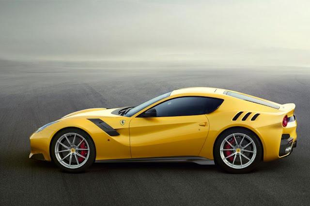 2015 Introduce Ferrari F12tdf Generation side view