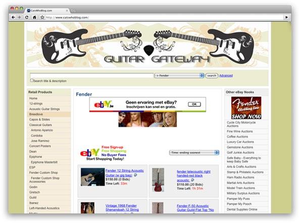 Build eBay Affiliate Stores