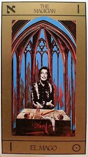 El Mago- Tarot Dalí