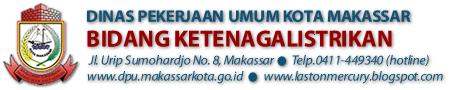 Bidang Ketenagalistrikan | DPU Kota Makassar
