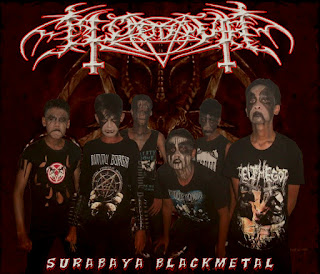Blood War Band Black Metal Surabaya Photo Personil Logo Artwork Images Wallpaper