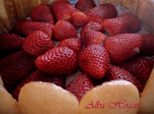 tarta fresa y bizcocho de soletilla alba hogar
