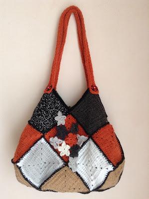 crochet bag sac en crochet