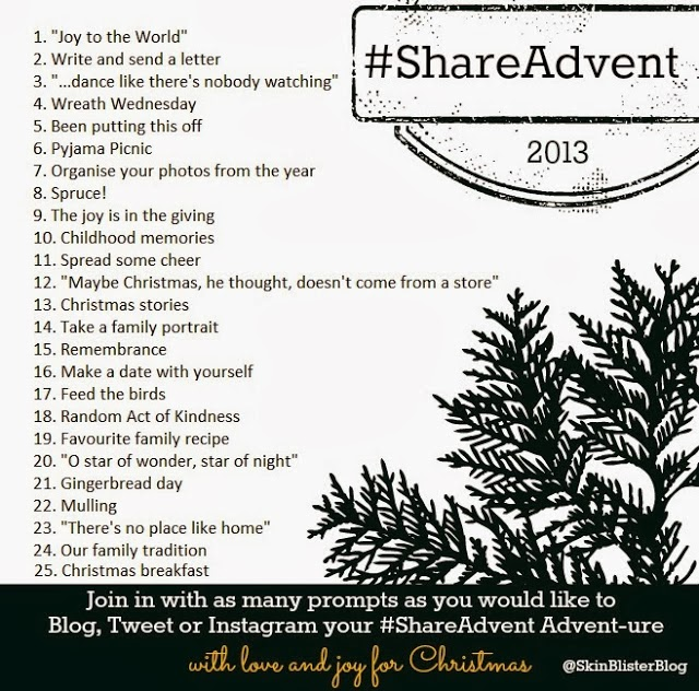 Share Advent Tag