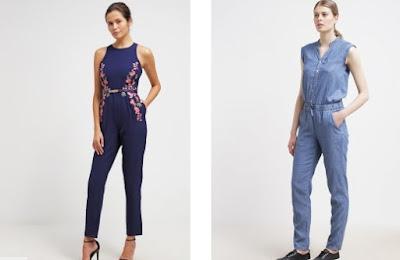 Tampil gaya bersama koleksi jumpsuits santai model terbaru