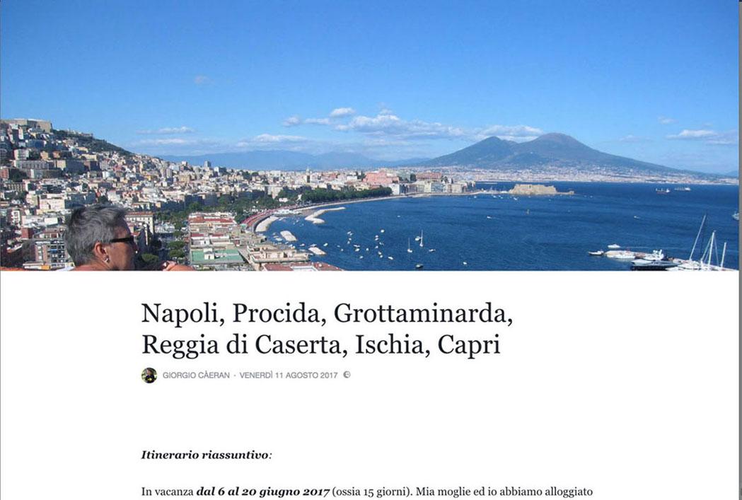 Racconto della vacanza napoletana.