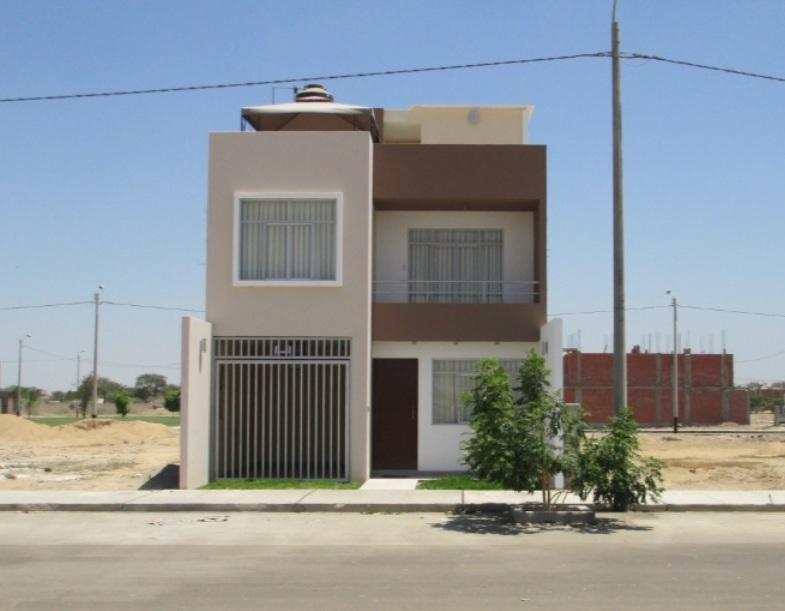fachadas y casas casas sencillas y modernas