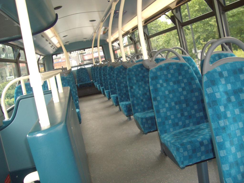 Tom london surrey bus blog arriva bus interior design for Interior companies london
