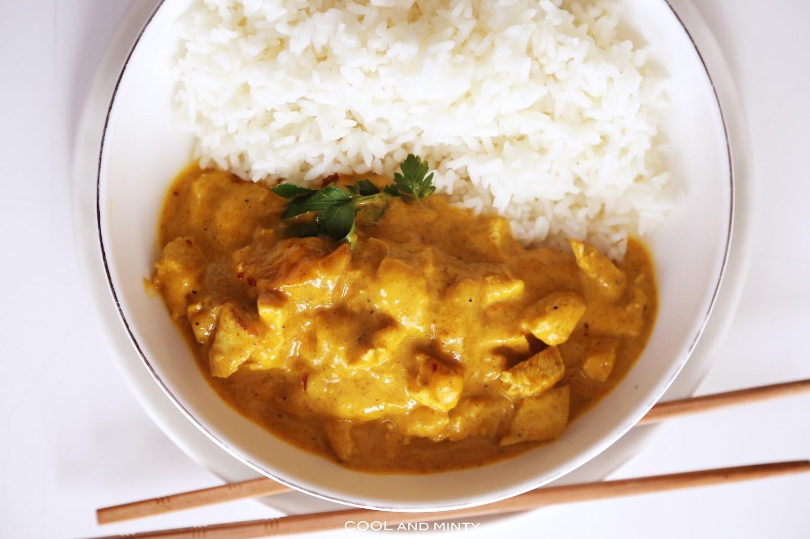 Kurczak W Sosie Curry Z Mango Cool Minty